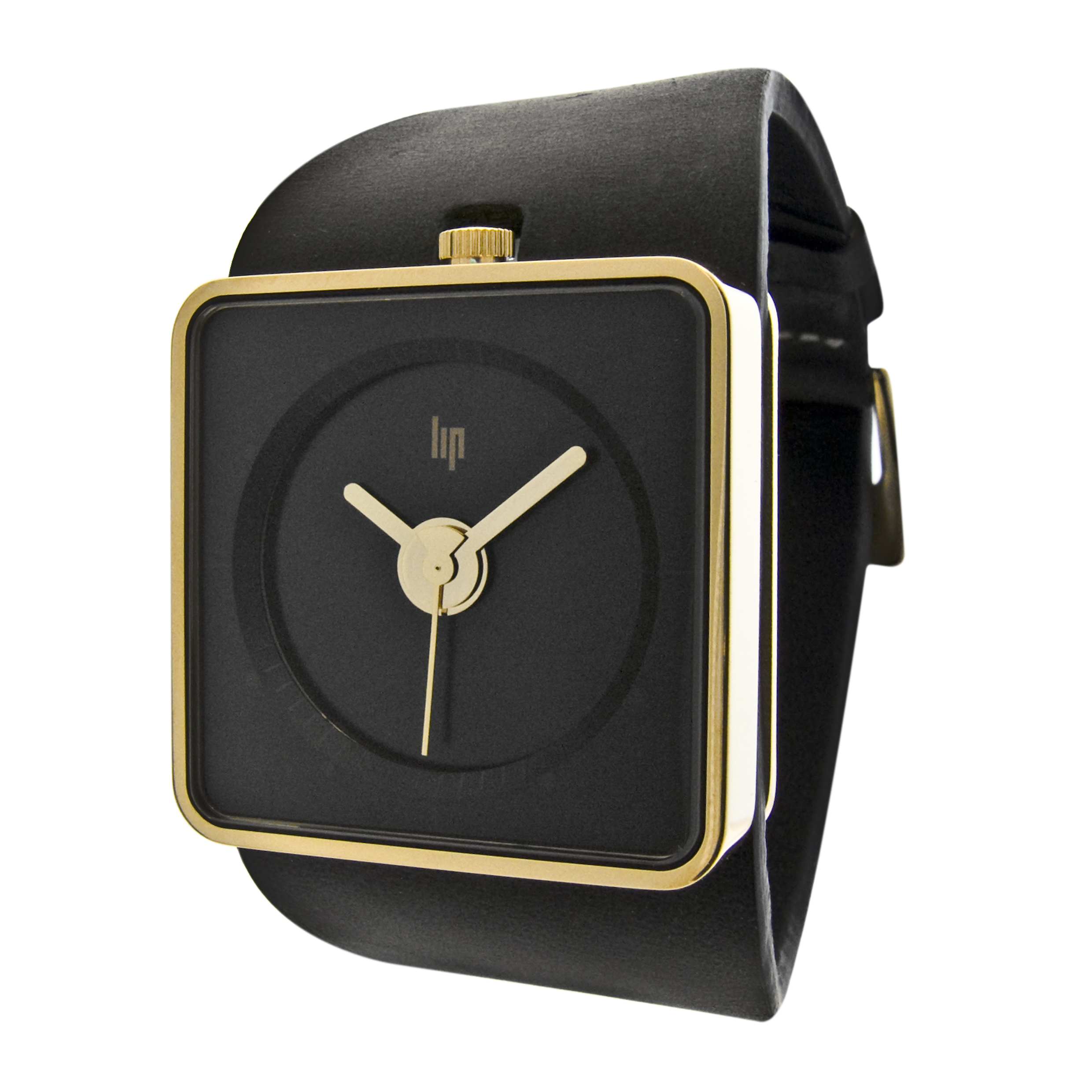 LIP Big TV Watch Gold Frame